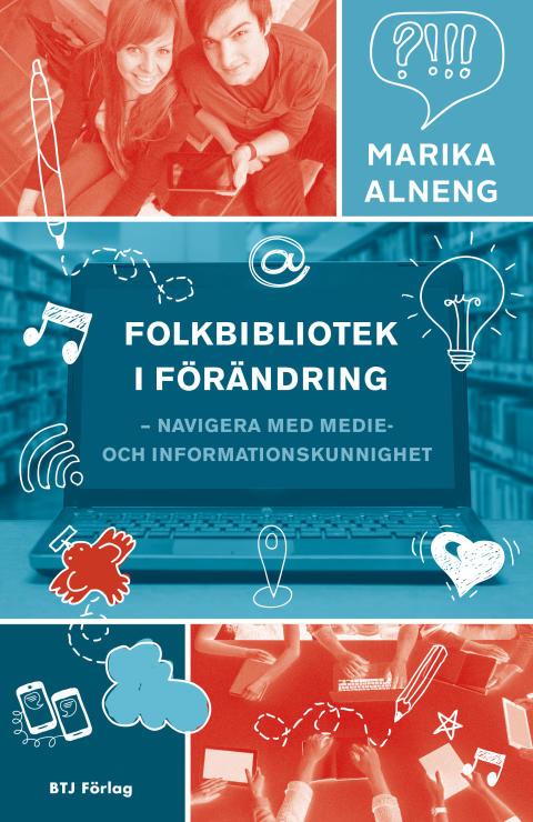 Omslaget till boken Folkbibliotek i förändring